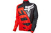 Fox Livewire Shield LS Jersey Men red/black